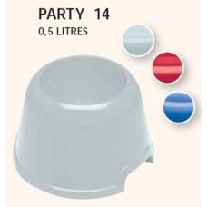 Μπωλ cocker Ferplast PARTY 14  0,5lt Mixed Colors
