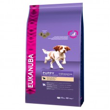 EUKANUBA ADULT SMALL & MEDIUM BREEDS ΑΡΝΙ & ΡΥΖΙ 12 KG