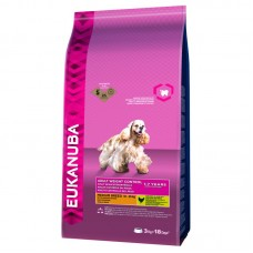 EUKANUBA ADULT WEIGHT CONTROL MEDIUM BREED ΚΟΤΟΠΟΥΛΟ 3 KG