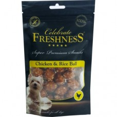 CELEBRATE GRAIN FREE CHICKEN AND RICE BALL 100GR