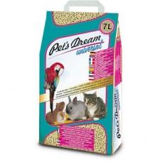 PET'S DREAM UNIVERSAL - ΦΥΣΙΚΟ ΥΠΟΣΤΡΩΜΑ ΓΙΑ ΤΡΩΚΤΙΚΑ - PELLET ΞΥΛΟΥ