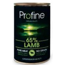 Profine super premium κονσέρβα  σκύλου 400gr . Lamb ,potatoes
