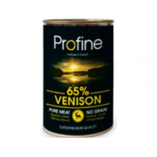 Profine super premium κονσέρβα σκύλου  400gr . Venison ,Potatoes