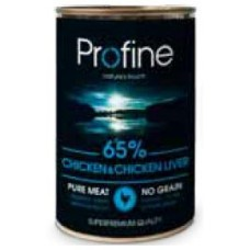 Profine super premium κονσέρβα σκύλου 400gr Chicken, Liver , Potatoes
