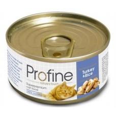 Profine κονσέρβα Γάτας 70 gr   Turkey & Rice